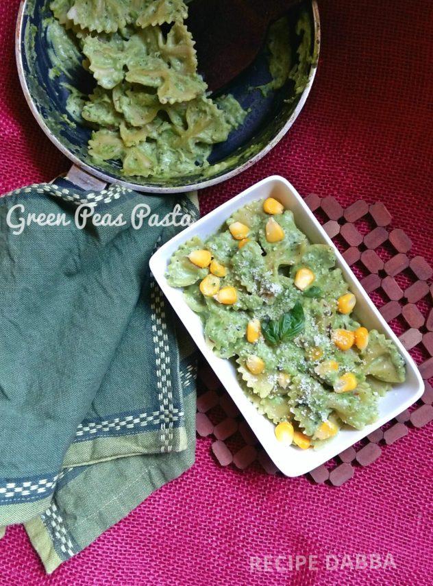green-peas-pasta